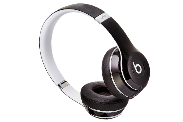 BEATS BY DRE SOLO2 WIRED LUXE HEADPHONES BLACK