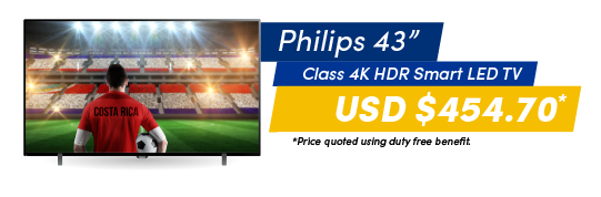 PHILIPS 43 - CLASS 4K HDR SMART LED TV